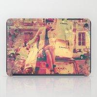 Chanel And Mini Cooper iPad Case