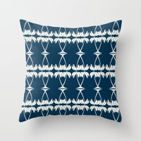 Palm Deco Throw Pillow