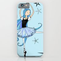 iPhone & iPod Case featuring Snowflake Ballerina by Devin Marie