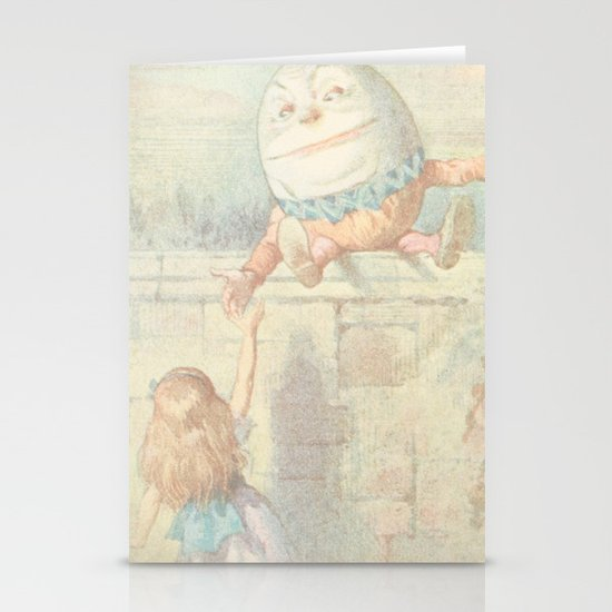 Vintage Humpty Dumpty Stationery Card