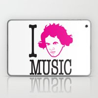 I __ Music Laptop & iPad Skin