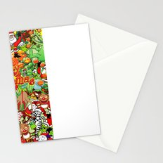 In Christmas melt into the crowd and enjoy it Stationery Cards