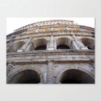 Wall Coliseum Canvas Print