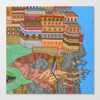 Cliff City Wizards Canvas Print