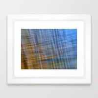 Water Pattern #4 Framed Art Print