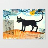 Gato Mexico Canvas Print