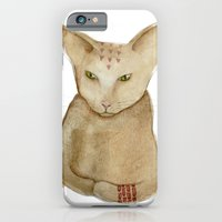 iPhone & iPod Case featuring Totem Kitteh 1 by Mouseblossom