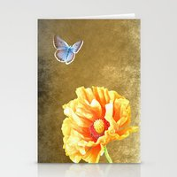 Illuminated garden Stationery Cards