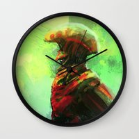 Mushroom King Wall Clock