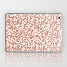 coral pink coral pattern Laptop & iPad Skin