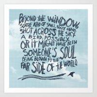 BIRD OR SOUL Art Print