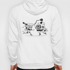 The ultimate fast food fight! Hoody