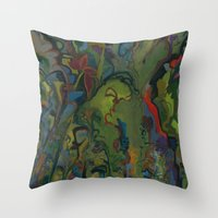 Flight Of The Shaman Throw Pillow