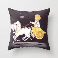 Apollo's Moon Landing Throw Pillow