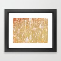 i am grass Framed Art Print