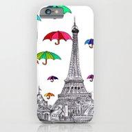 Travel With Umbrella iPhone 6 Slim Case