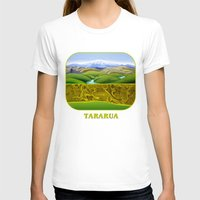 The Lie of the Land: Tararua Womens Fitted Tee White SMALL