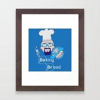 Baking Bread Framed Art Print
