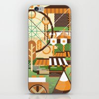 Let's Camp, Shall We? iPhone & iPod Skin