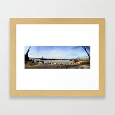 Williamsburg. Framed Art Print