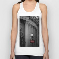 Paris Metro Unisex Tank Top