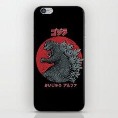 Gojira Kaiju Alpha iPhone & iPod Skin