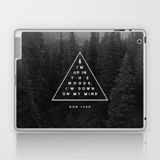 Woods -- Bon Iver Laptop & iPad Skin