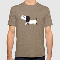 Yelow Dog Mens Fitted Tee Tri-Coffee SMALL