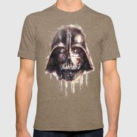 Darth Vader Mens Fitted Tee Tri-Coffee SMALL