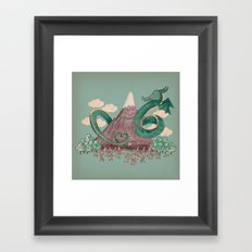 The Not-So-Lonely Mounta… Framed Art Print