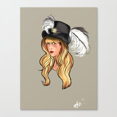 Mama Stevie Canvas Print