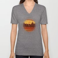 Textures/Abstract 118 Unisex V-Neck