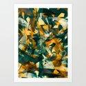 Raw Texture Art Print