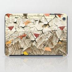 Peeling Pyrenees Paper Planes iPad Case