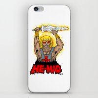 HE-MAD iPhone & iPod Skin