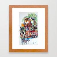 Mystic Cat Framed Art Print