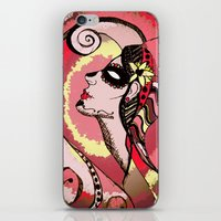 Shake It Off - Red iPhone & iPod Skin