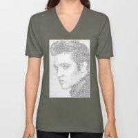Elvis: Suspicious Minds Unisex V-Neck