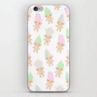 Jewel Creatures  iPhone & iPod Skin