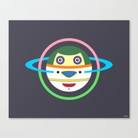 Spaceman 1 Canvas Print