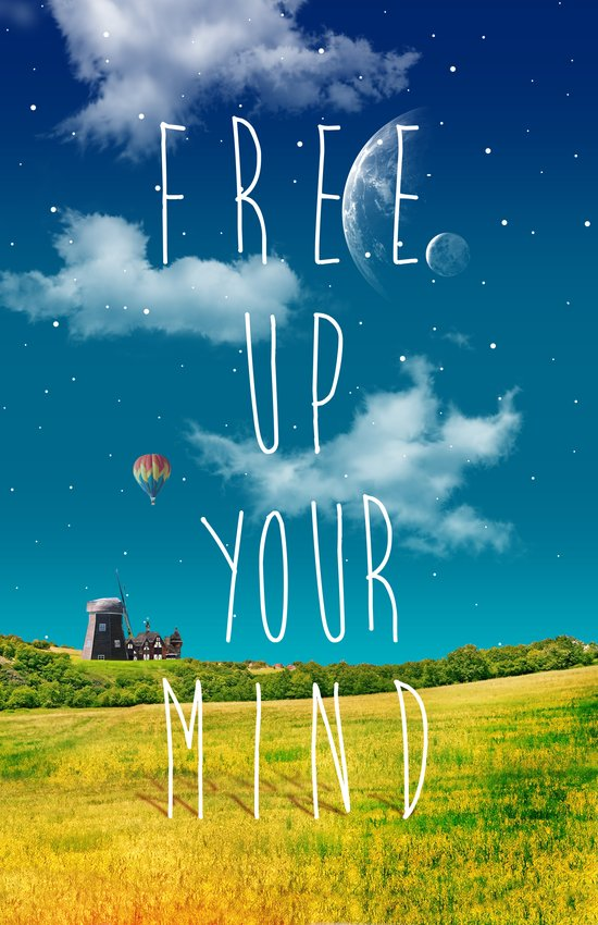 Free Up Your Mind 2 Art Print
