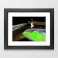 Jump For Joy. Land For S… Framed Art Print