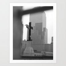 Ground Zero Art Print