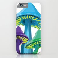 iPhone & iPod Case featuring Alice's Shrooms by Alice Graphix