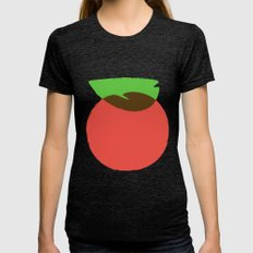 Apple 24 Womens Fitted Tee Tri-Black SMALL
