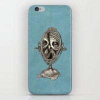 Owl Mirror iPhone & iPod Skin