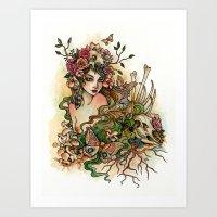 Life and Bones Art Print