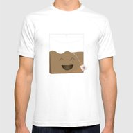 Tea Is My Bag Mens Fitted Tee White SMALL