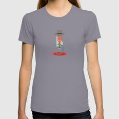 Bonnie and Clyde Womens Fitted Tee Slate SMALL