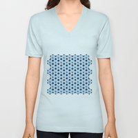 Blue Cubes Unisex V-Neck
